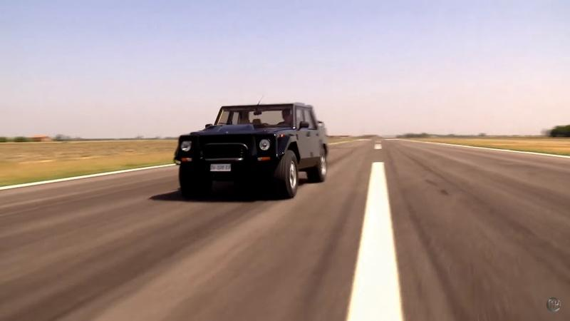 Video of the Day: Deciding to Build the Lamborghini LM002 and Lamborghini Urus