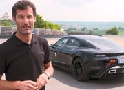 Video of the Day: Mark Webber Test Drives the Porsche Mission E, Says It Reminds Him of the 919 Hybrid - image 781128