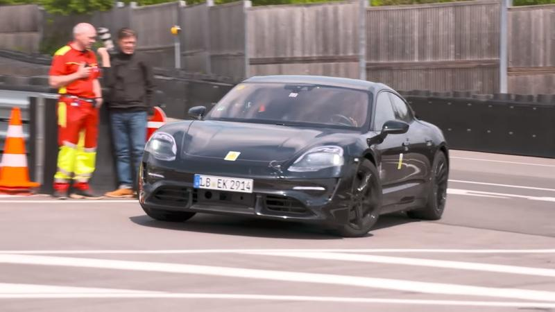 Video of the Day: Mark Webber Test Drives the Porsche Mission E, Says It Reminds Him of the 919 Hybrid