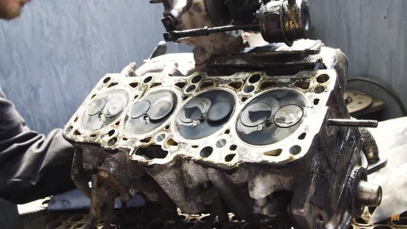 Video of the Day: Tearing Down a 430,000-Mile Engine