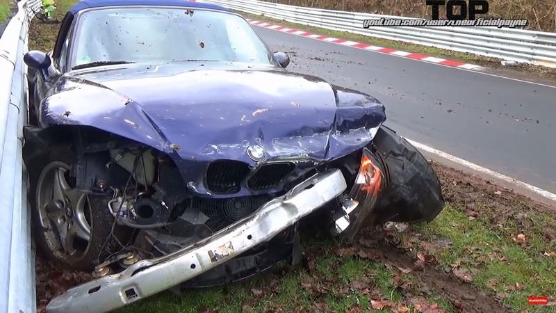 Video of the Day: Top 13 Hardest BMW Crashes on the Nurburgring