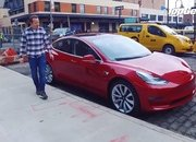 Video of the Day: Top Gear Plays with the Tesla Model 3 - image 781496