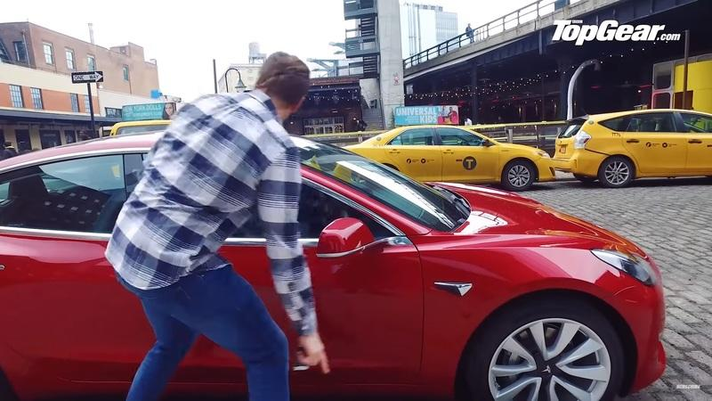 Video of the Day: Top Gear Plays with the Tesla Model 3