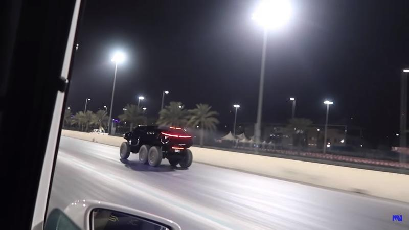 Video of the Day: Watch the 6x6 Devel Sixty Devour a Mercedes-AMG GT S and a Mercedes G-Wagon