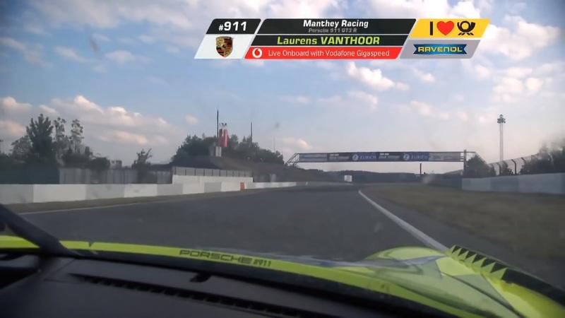 Video of the Day: Watch Laurens Vanthoor drive the Porsche 911 GT3 R to a Record Lap During the Nurburgring 24 Hours