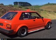 Video of the Day:Watch This Hayabusa-Powered Toyota Starlet Attack A Hill Climb At 11,400 RPM - image 779452