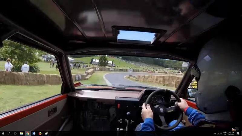 Video of the Day:Watch This Hayabusa-Powered Toyota Starlet Attack A Hill Climb At 11,400 RPM