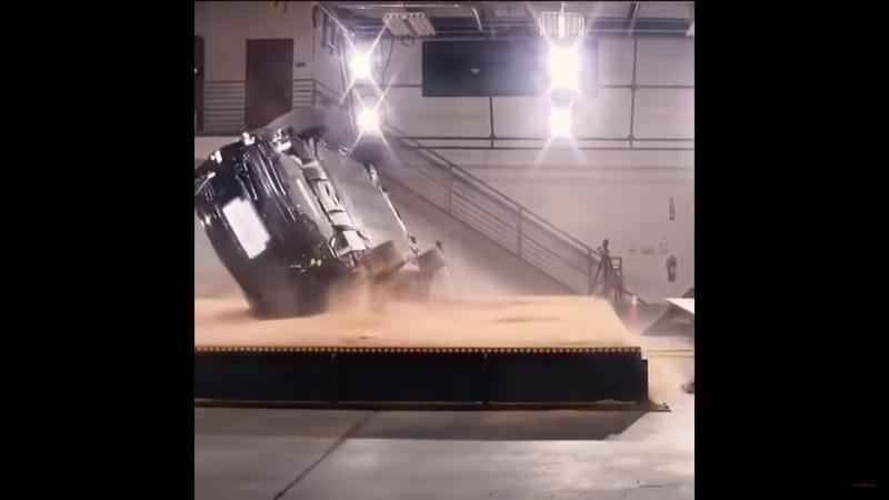Watch Tesla Fail Miserably at Trying to Rollover the Model X