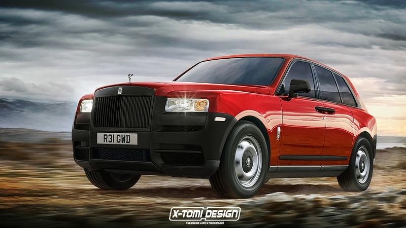 Xtomi Ponders How the Rolls-Royce Cullinan Could Evolve with Six Renderings