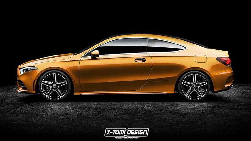 X-Tomi's Rendering of the Mercedes A-Class Coupe Has Us Salivating With Desire