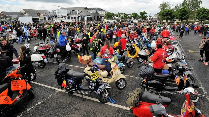 Vespa World Days 2018 Wraps Up In Belfast