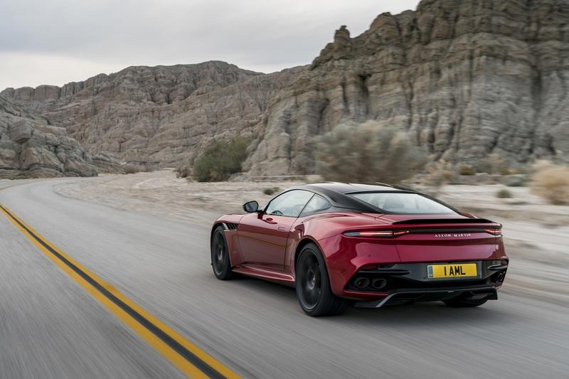 Comparison: 2019 Aston Martin DBS Superleggera vs. Aston Martin Vanquish Exterior - image 785037