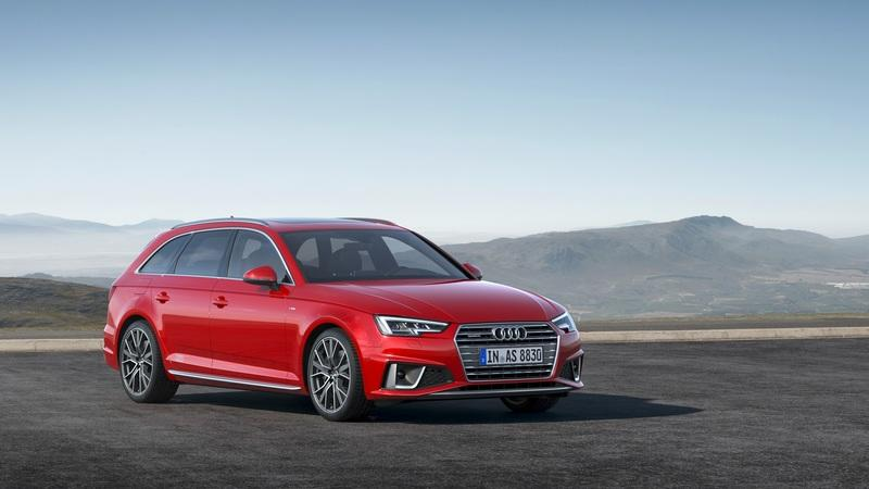 The S-Line Competition Package Gives the Refreshed Audi A4 Some Extra Value