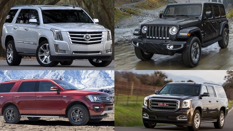 6 American SUVs That Still Feature Body-on-Frame Construction