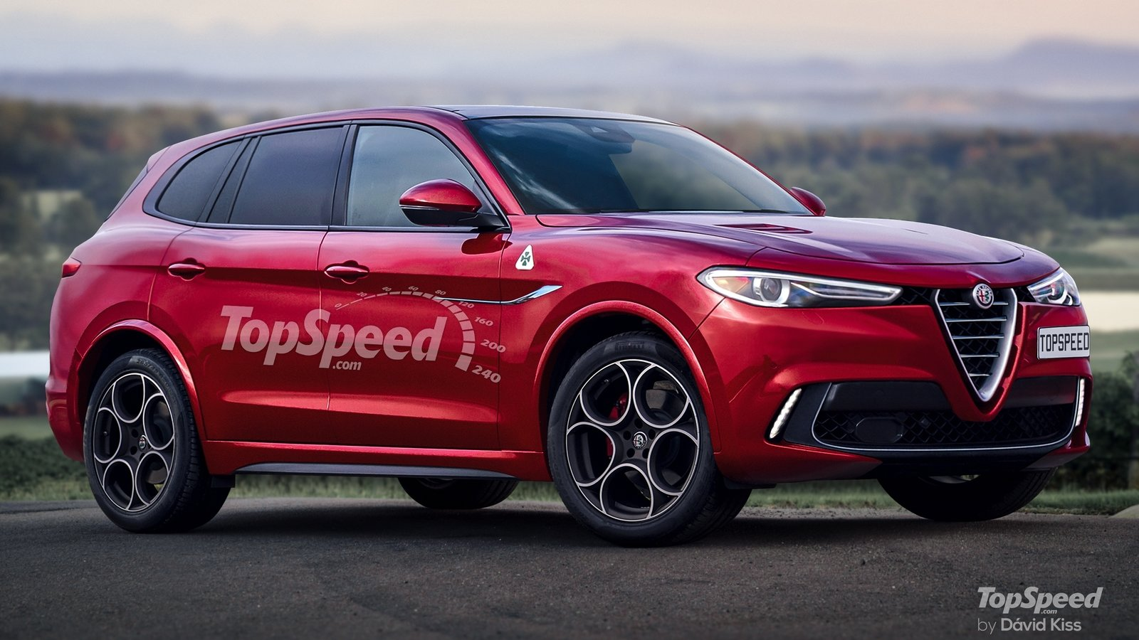 2023 Alfa Romeo Large SUV | Top Speed