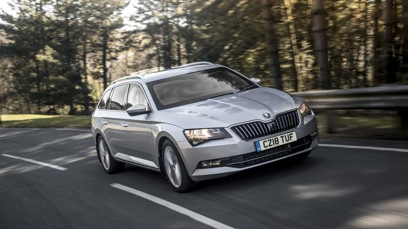 Armored Skoda Superb