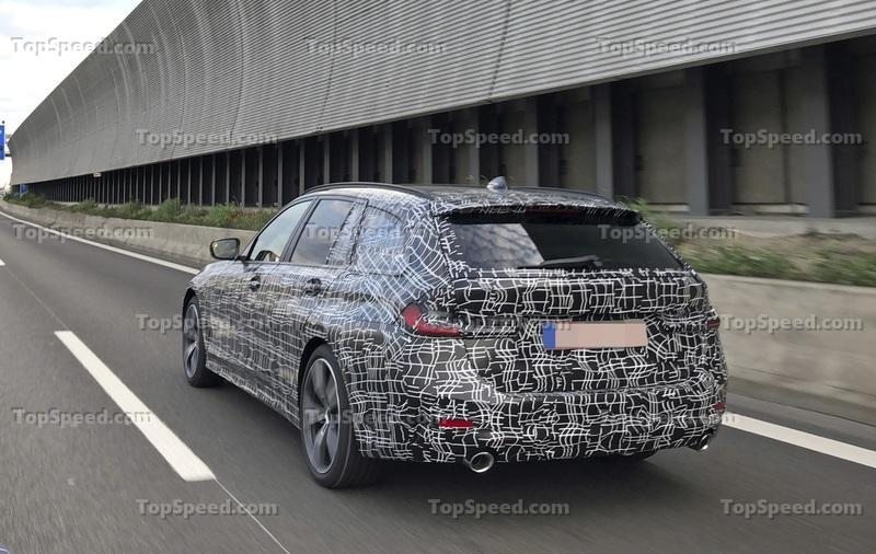 2020 BMW 3 Series Touring Spyshots - image 785059