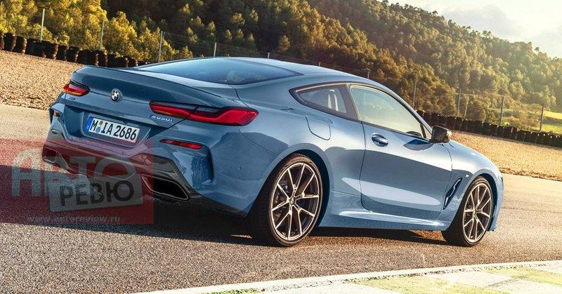 BMW 8 Series Revealed in all its Glory Before the Official Debut