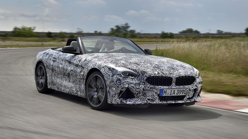 BMW Gives Away Some Details About the Upcoming Z4