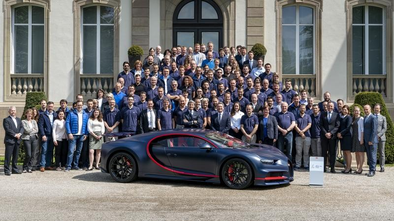 Bugatti Just Built The 100th Chiron, Has 400 More Models To Go
