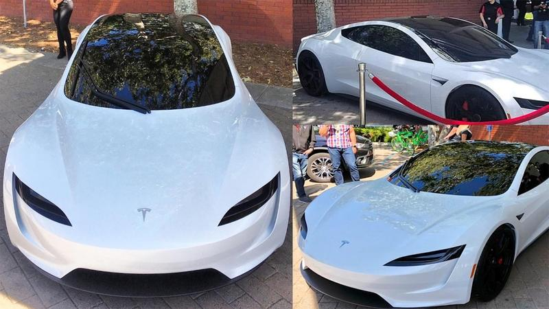 Can You Spot What's Different on This Tesla Roadster Prototype?