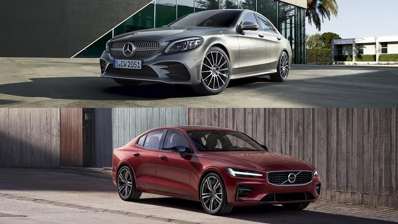 Comparison: 2019 Volvo S60 vs. 2019 Mercedes C-Class