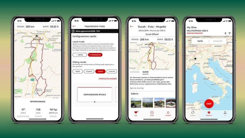 Ducati App Links Your Bike To Your Smartphone - image 784474
