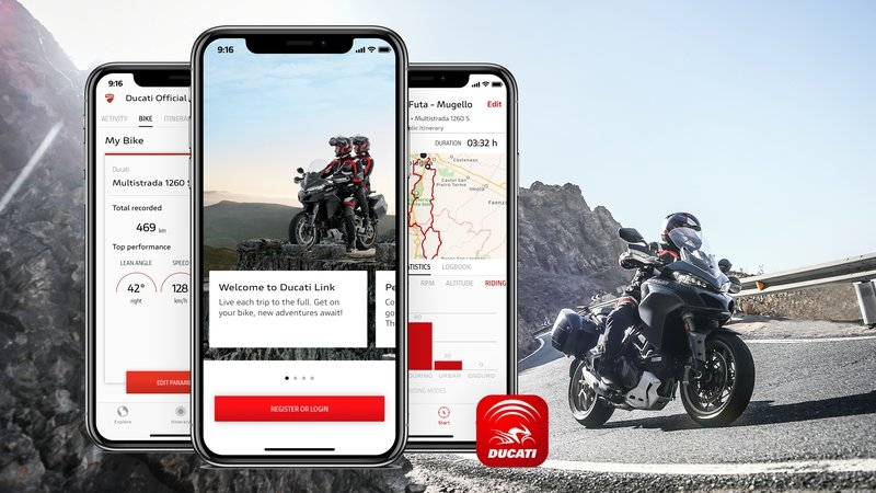 Ducati App Links Your Bike To Your Smartphone