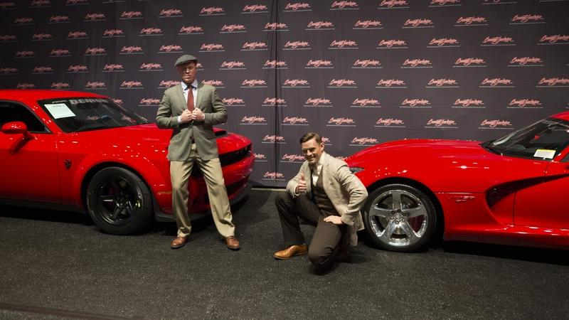 Final Dodge Viper And Demon Sold For $1 Million