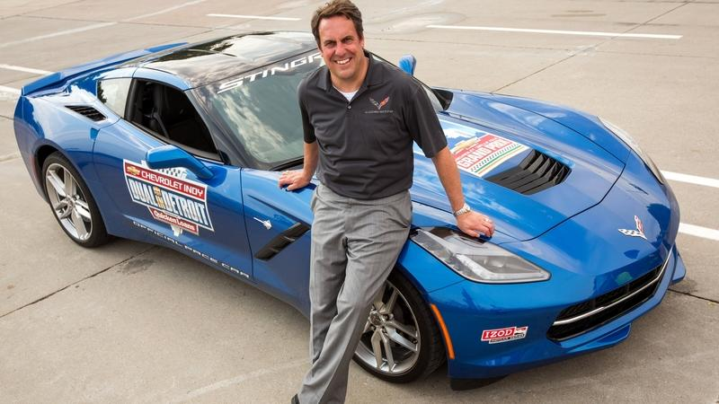 GM Executive, Mark Reuss, Should Probably Stop Driving Pace Cars on Indy Car Races