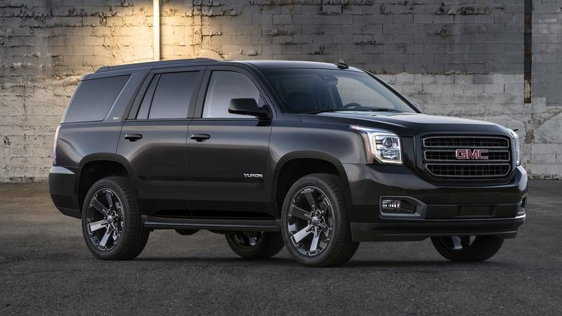 2018 GMC Yukon Graphite Performance Edition