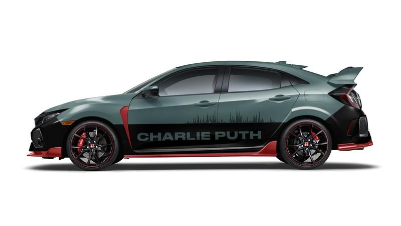 Honda and Charlie Puth Create Special Edition Civic Type R
