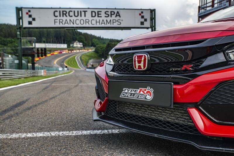 Honda Civic Type R Sets Lap Record at Spa-Francorchamps
