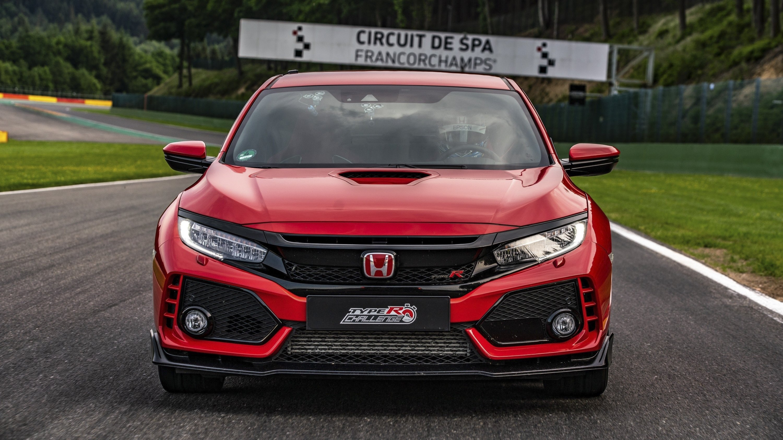 Honda civic type r sets lap record at spa francorchamps for Honda civic type r top speed