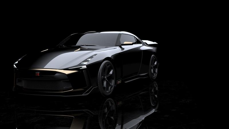 Italdesign and Nissan Design a Celebratory GT-R That Screams Future Collaboration