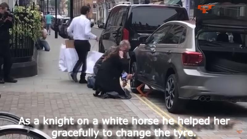 Jeremy Clarkson Does the Unthinkable on the Side of the Road