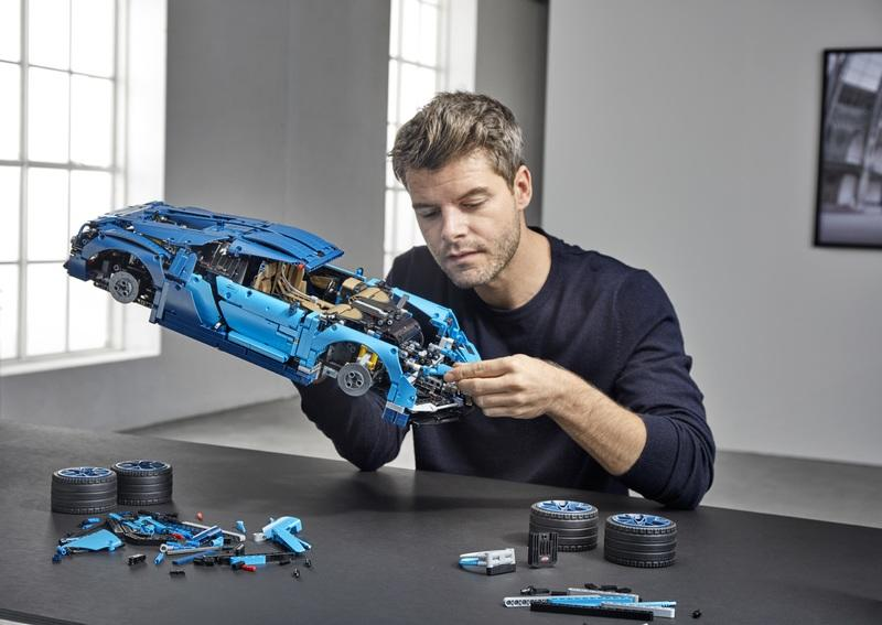 The Lego Technic Bugatti Chiron Is So Precisely Detailed That The W