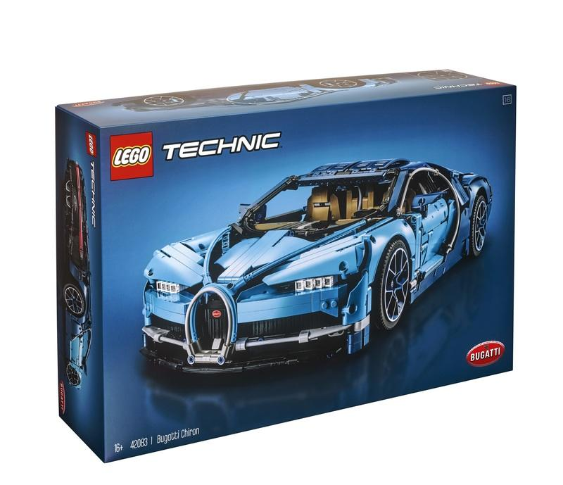 The Lego Technic Bugatti Chiron is So Precisely Detailed that the W-16 Engine Even Has Moving Pistons - image 781923