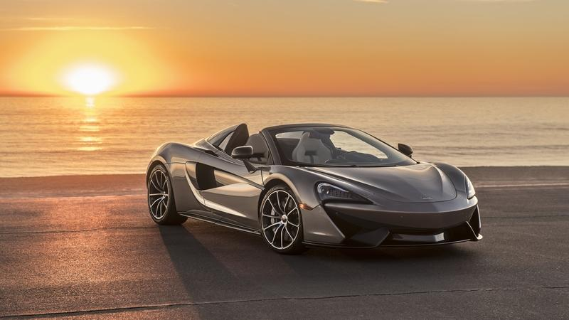 McLaren Builds Bespoke 570S Spider for the Elton John AIDS Foundation