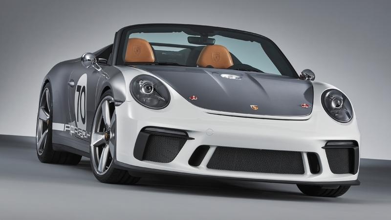 Meet the Porsche Speedster Concept, A 500-Horsepower Six-Speed Monster Exterior - image 782995