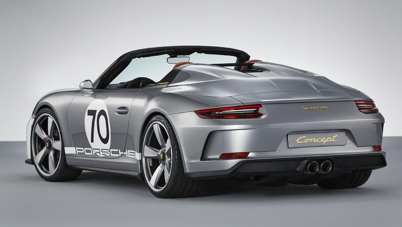 2018 Porsche 911 Speedster Concept Top Speed