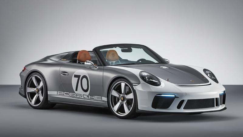 Meet the Porsche Speedster Concept, A 500-Horsepower Six-Speed Monster