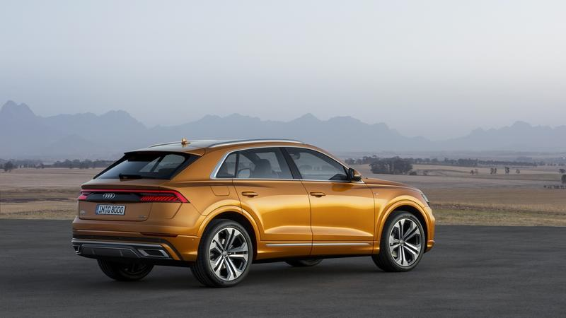 Wallpaper of the Day: 2019 Audi Q8