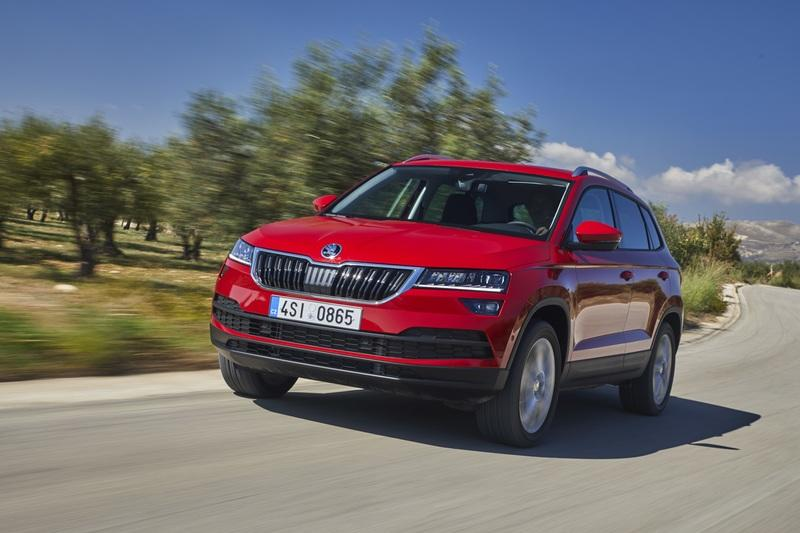 2019 skoda karoq sportline top speed. Black Bedroom Furniture Sets. Home Design Ideas