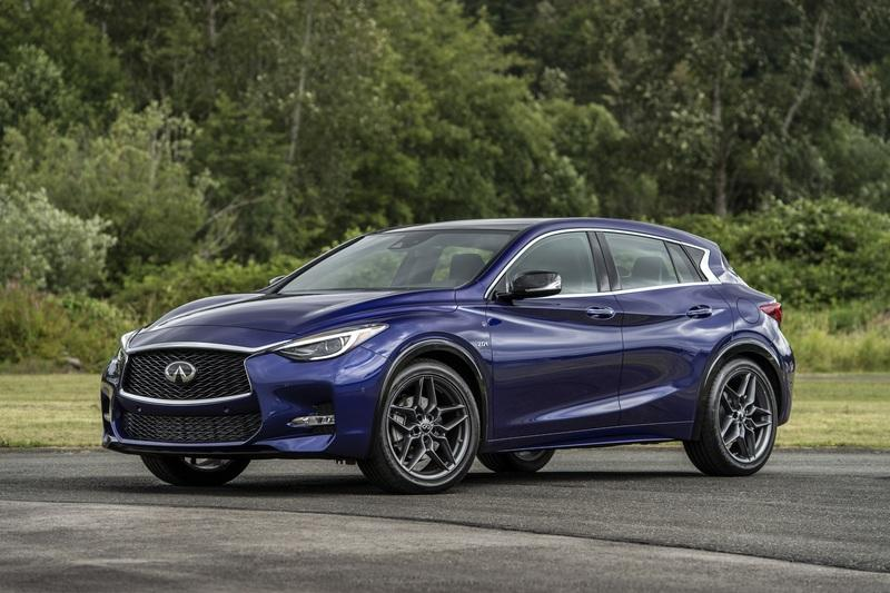 Subtle Update For The 2018.5 Infiniti QX30 Brings Important Safety Tech As Standard