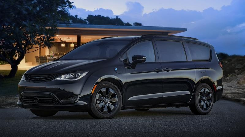 The 2019 Chrysler Pacifica Hybrid Goes Aggressive with a new S Appearance Package