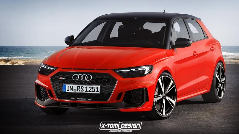 Xtomi Imagines the Audi A1 Allroad Quattro, RS1, Clubsport Quattro, and the Avant