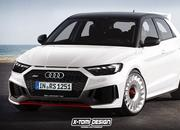 Xtomi Imagines the Audi A1 Allroad Quattro, RS1, Clubsport Quattro, and the Avant - image 784775