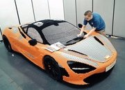 The Full-Scale McLaren 720S Made Out of Legos is at the Petersen Automotive Musem - image 782886