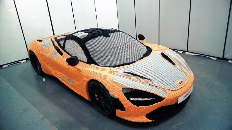 The Full-Scale McLaren 720S Made Out of Legos is at the Petersen Automotive Musem - image 782887